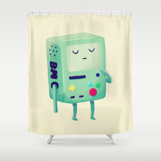 Who Wants To Play Video Games? Shower Curtain