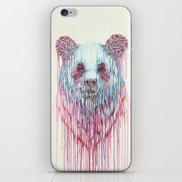Dripping Panda iPhone Skin