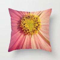 cosmos Throw Pillows featuring Cosmos by KunstFabrik_StaticMovement Manu Jobst