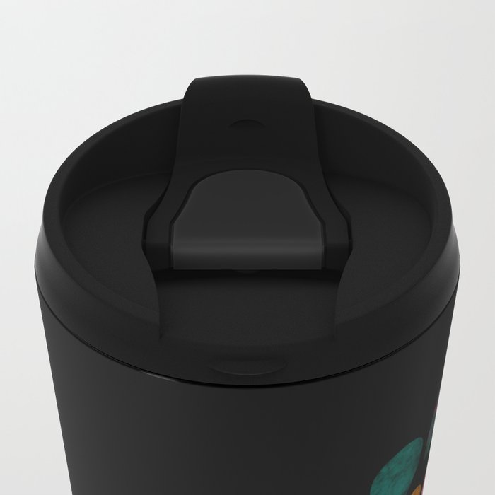 Color 5 Metal Travel Mug