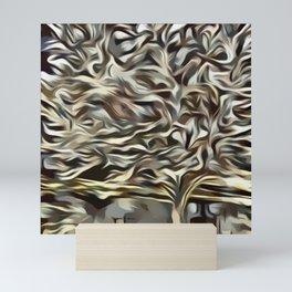 Golden Bradford Pear Tree (Tree collection) Mini Art Print