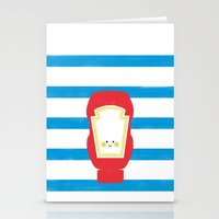 french fries Stationery Cards featuring French Fries by Maatelier