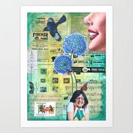 Come To Your Senses Art Print