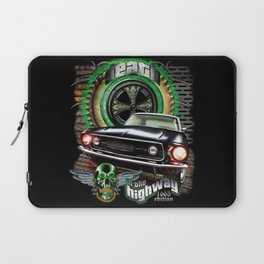 Death in the highway Laptop Sleeve