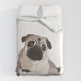 Pug dog Comforters