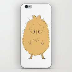 Thinking Capybara iPhone & iPod Skin