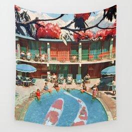 Hotel Koi Wall Tapestry