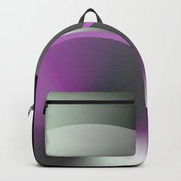 Serene Simple Hub Cap in Purple Backpack