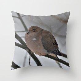 Big Dove Throw Pillow