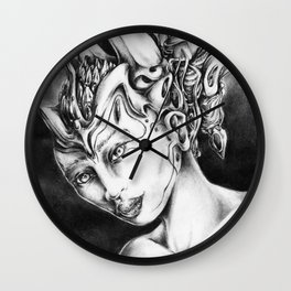 Princess Of Darkness Wall Clock