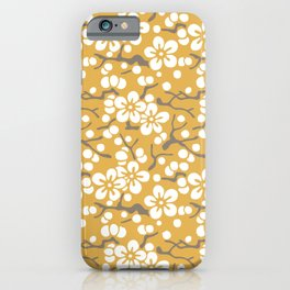 Edaume Japanese Spring Blossoms iPhone Case