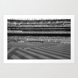 Target Field Art Print