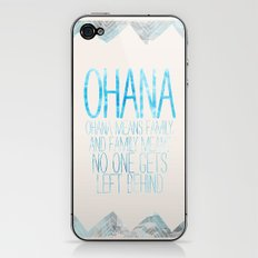 OHANA iPhone & iPod Skin