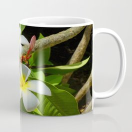 Enchanting Frangipani Coffee Mug