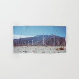 Palm Springs Windmills VII Hand & Bath Towel