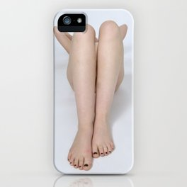 2197-PDJ Legs of a Nude Woman Tasteful Art iPhone Case