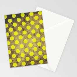 Green Dots Pattern Stationery Cards