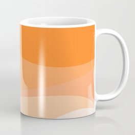 Creamsicle Dream - Abstract Coffee Mug