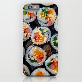 Colorful Tasty Sushi iPhone Case