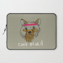 Can't bear it! Laptop Sleeve