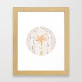 Colour me blind Framed Art Print