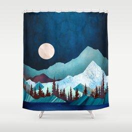 Moon Bay Shower Curtain