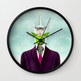 The Son of Unicorn Wall Clock