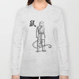 Chinese Zodiac Rat Long Sleeve T-shirt