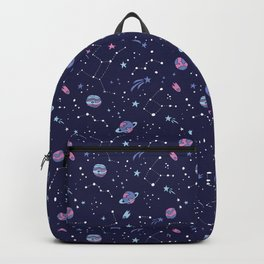 You're Outta this World in Purple Backpack