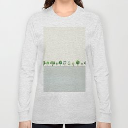 A Row Of Trees Long Sleeve T-shirt