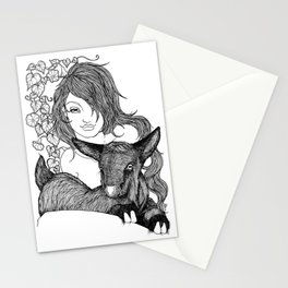 GOAT NYMPH Stationery Cards