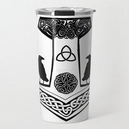 Mjolnir - Thor's hammer Travel Mug