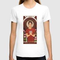 michael scott T-shirts featuring Scott by callahaa