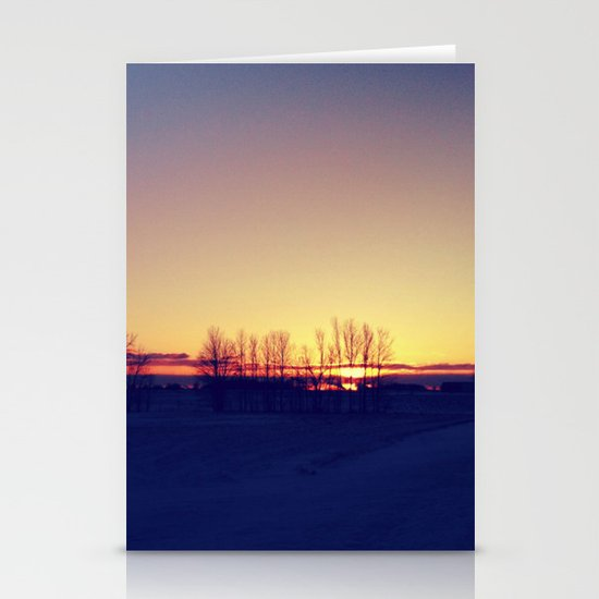 Winter Sets Stationery Cards