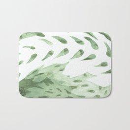 Abstract Fern Bath Mat