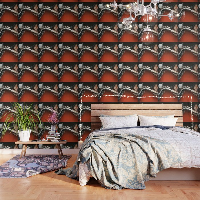 Flying Sax Wallpaper