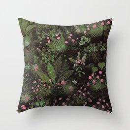 El Trifolium del fraile Throw Pillow