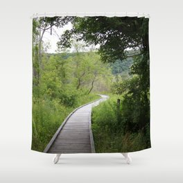 Appalachian Entrance Shower Curtain