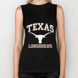 Texas Longhorns UT NCAA hrns1005 texas t-shirts Biker Tank