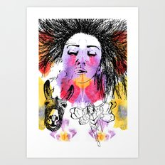 Breathe, Dream Art Print
