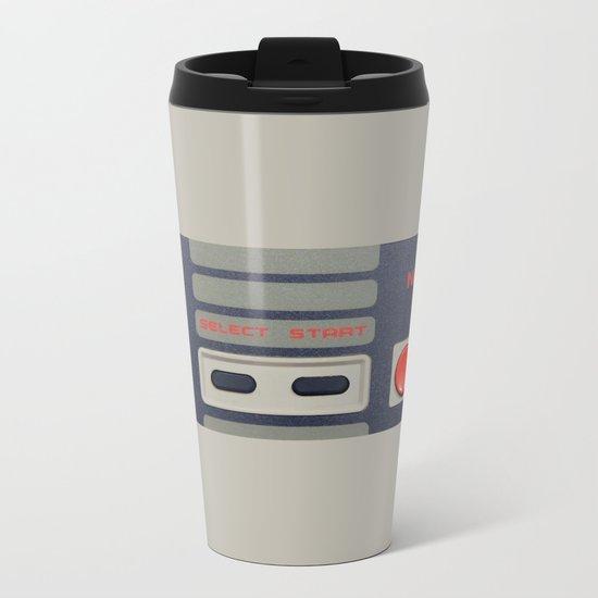 Nintendo Controller Metal Travel Mug