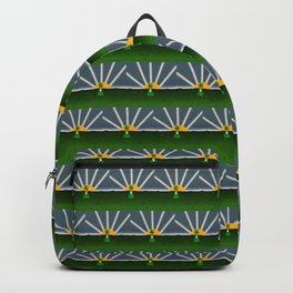 Oliver The Otter and Field of Shamrocks Backpack