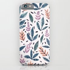 Painted Leaves iPhone 6s Slim Case