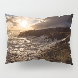 Evening Light and Surf Pillow Sham