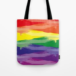Abstract Rainbow Tote Bag