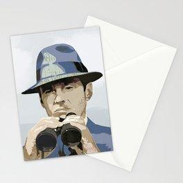 Binoculars Stationery Cards