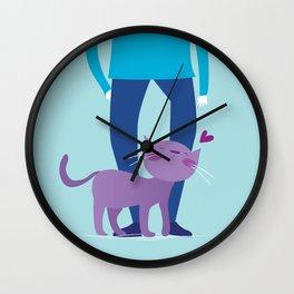 I dislike you the least Wall Clock