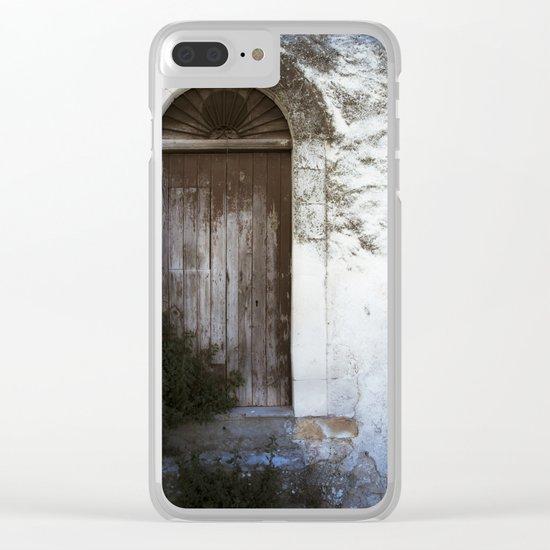 Italian Door Clear iPhone Case