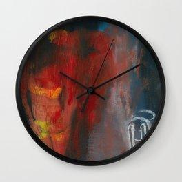 See No Evil Wall Clock