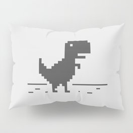 Google Chrome's Dino Pillow Sham